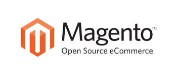 Logo of Magento online store system